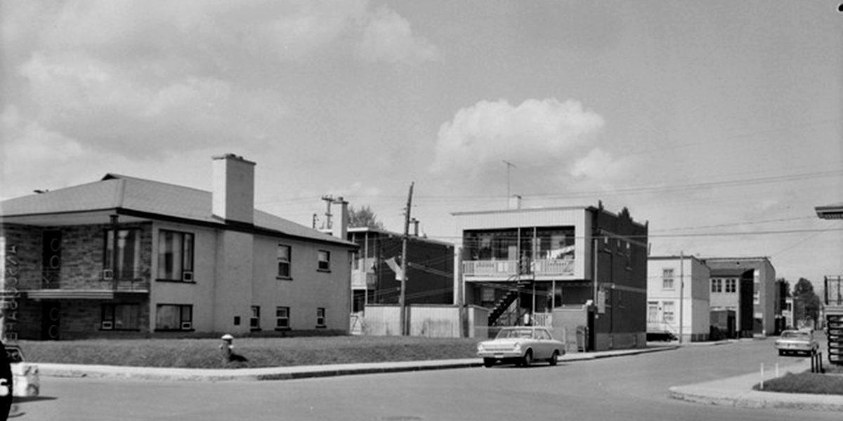 Saint-Sauveur dans les années 1960 (15) : intersection De Dieppe – des Oblats | 2 juillet 2017 | Article par Jean Cazes