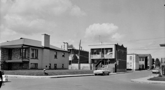 Saint-Sauveur dans les années 1960 (15) : intersection De Dieppe – des Oblats - Jean Cazes