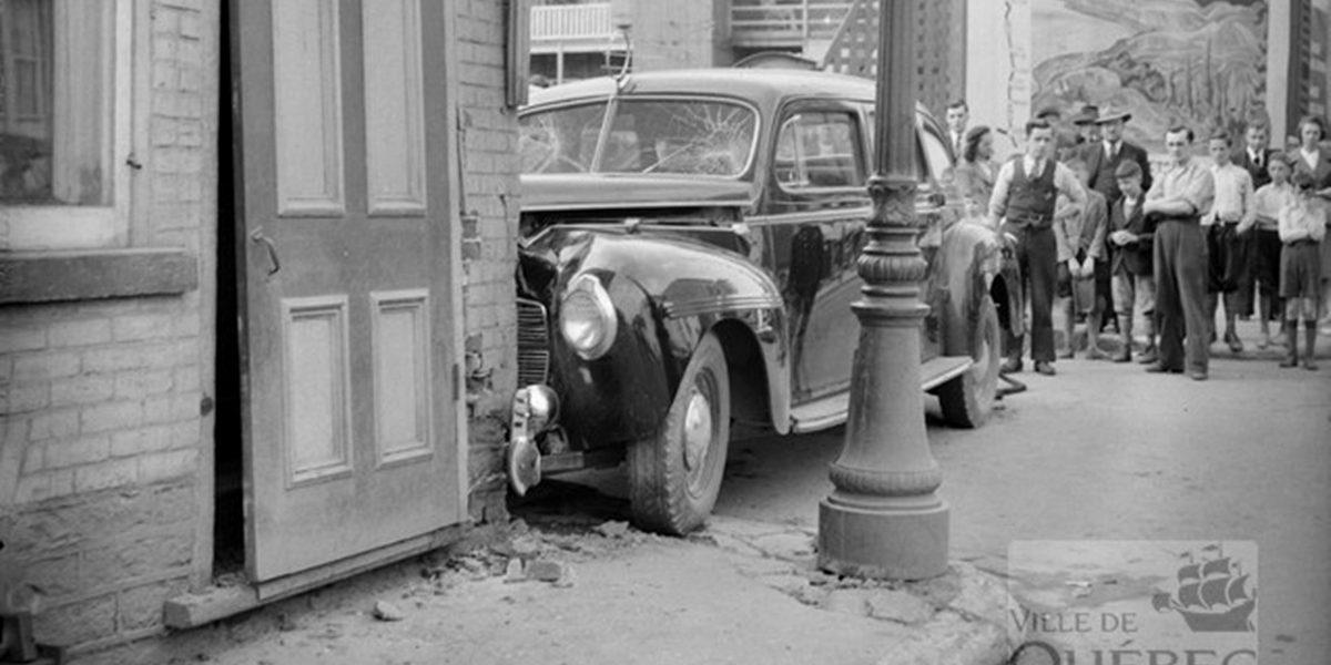 Saint-Sauveur dans les années 1940 (20) : accident de taxi | 3 septembre 2017 | Article par Jean Cazes