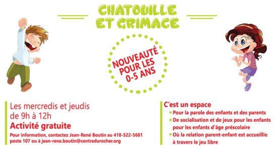 Chatouille et Grimace
