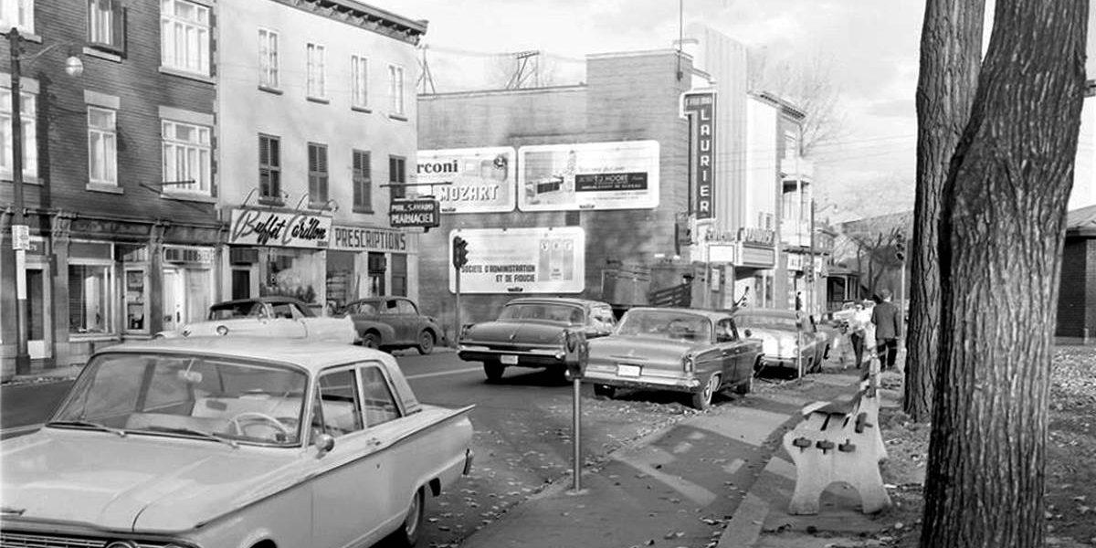 Saint-Sauveur dans les années 1960 (19) : le cinéma Laurier, coin Saint-Vallier Ouest – de Carillon | 4 novembre 2017 | Article par Jean Cazes
