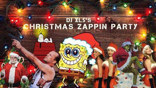 DJ XL5's Christmas Zappin Party : Soirée de Projection Gratuite