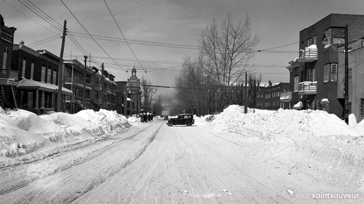Saint-Sauveur dans les années 1940 (21) : Marie-de-l'Incarnation après le blizzard | 4 février 2018 | Article par Jean Cazes