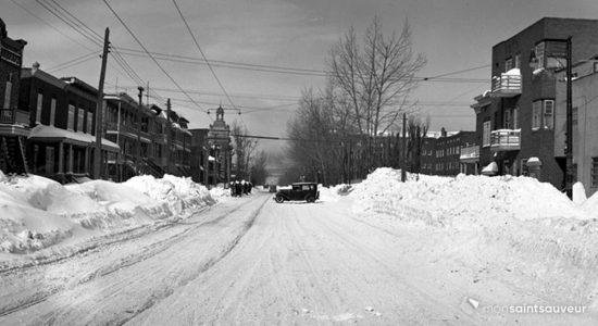 Saint-Sauveur dans les années 1940 (21) : Marie-de-l'Incarnation après le blizzard - Jean Cazes