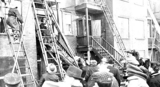 Saint-Sauveur dans les années 1950 (9) : funeste incendie sur Marie-de-l'Incarnation - Jean Cazes