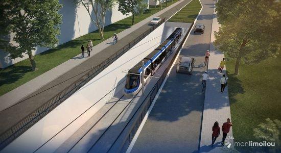 Tramway : des aménagements plutôt que 3 km de tunnel - Monquartier