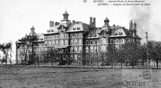 L'Hôpital du Sacré-Coeur de Jésus vers 1910 - Jean Cazes