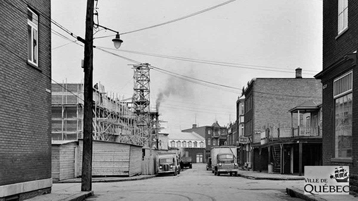 Saint-Sauveur dans les années 1940 (23) : le Centre Durocher en construction | 10 juin 2018 | Article par Jean Cazes
