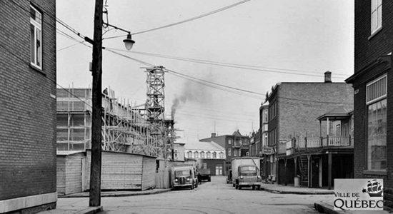 Saint-Sauveur dans les années 1940 (23) : le Centre Durocher en construction - Jean Cazes