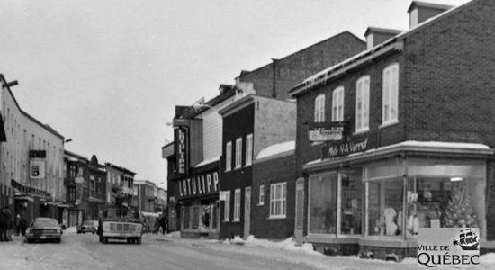 Saint-Sauveur dans les années 1970 (21) : rue Saint-Vallier Ouest et Latulippe - Jean Cazes