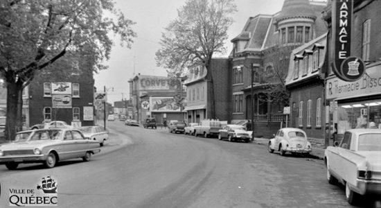 Saint-Sauveur dans les années 1960 (24) : rue Saint-Vallier Ouest - Jean Cazes