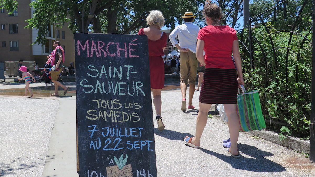 Lancement canon pour la 6e édition du Marché Saint-Sauveur | 8 juillet 2018 | Article par Véronique Demers