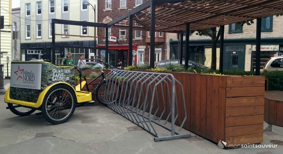 Visiter Saint-Sauveur avec un valet à vélo - Suzie Genest