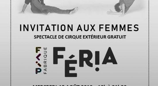 Spectacle de cirque avec le Centre des Femmes de la Basse-Ville