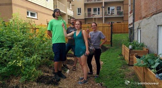 L'AMIE jardine avec la Maison Marie-Frédéric - Suzie Genest