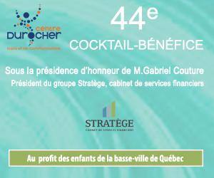 44e Cocktail-Bénéfice