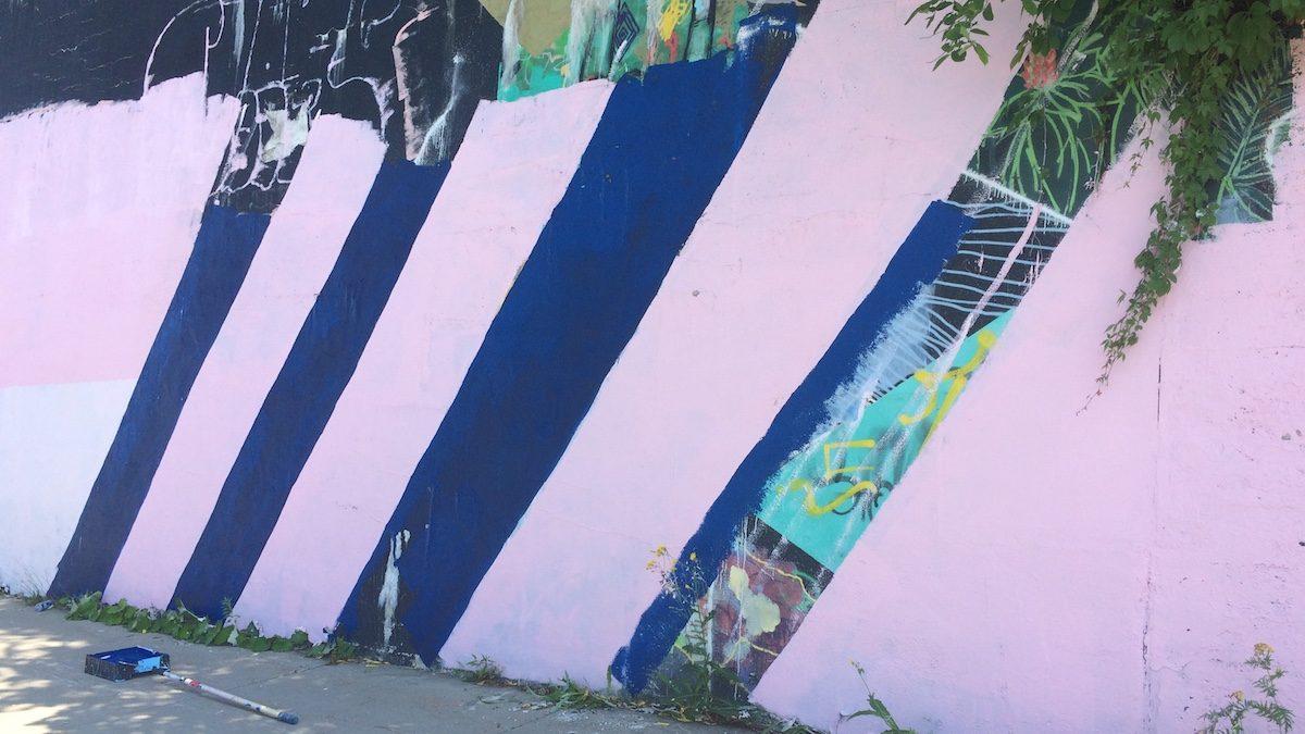 Une nouvelle oeuvre rafraîchit la côte de la Pente-Douce | 9 août 2018 | Article par Véronique Demers