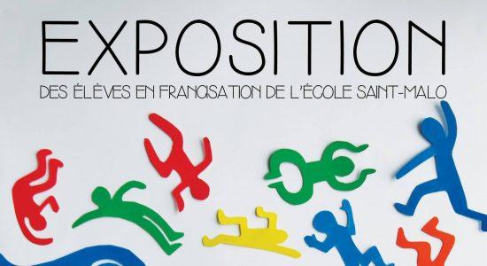 Exposition de la classe de francisation de Saint-Malo