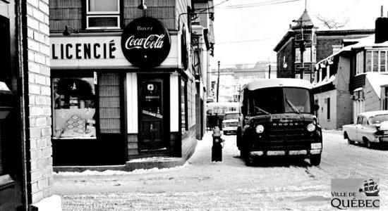 Saint-Sauveur dans les années 1960 (28) : épicerie de la rue Père-Grenier - Jean Cazes