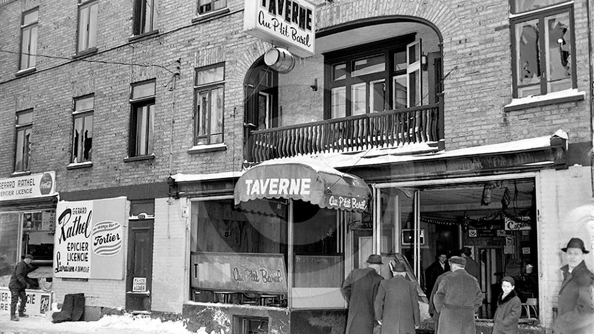Saint-Sauveur dans les années 1960 (25) : Incendie suspect à la taverne Au Petit Baril | 9 mars 2019 | Article par Jean Cazes