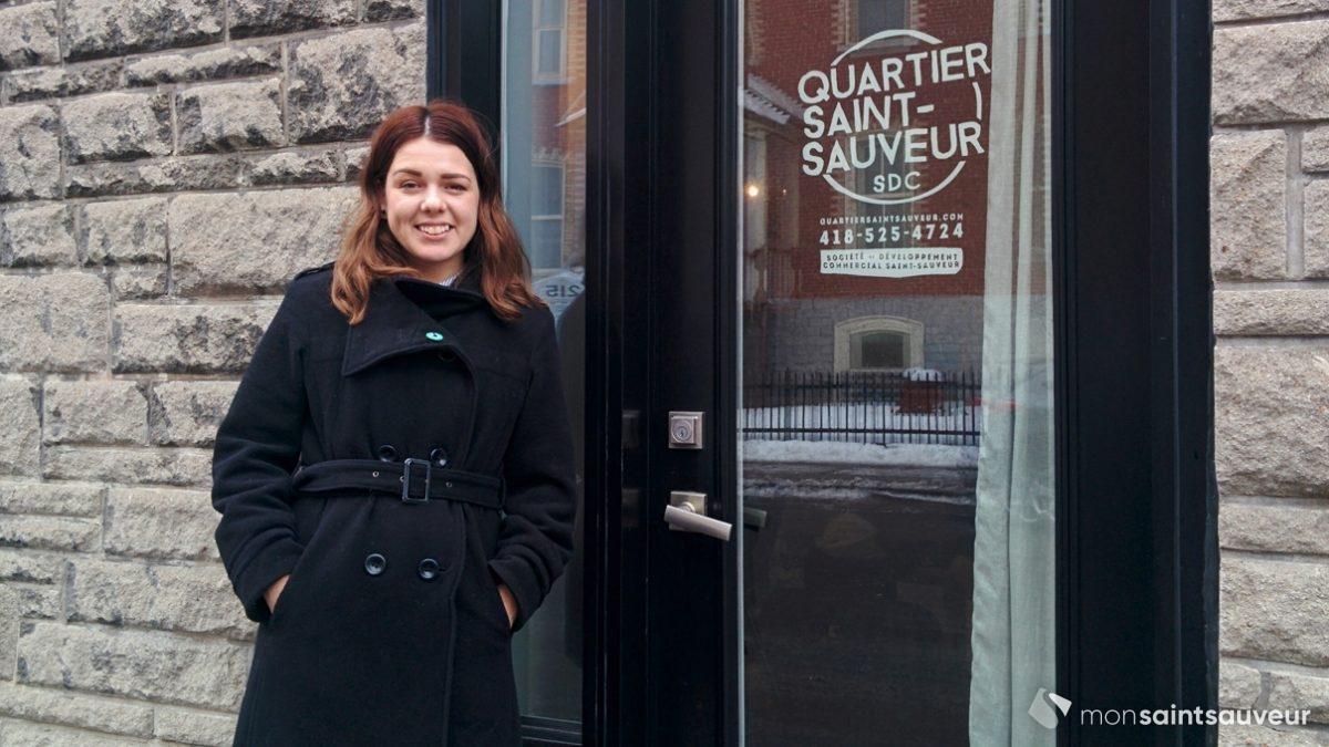 Marylou Boulianne, nouvelle directrice générale de la SDC Saint-Sauveur | 5 décembre 2018 | Article par Suzie Genest