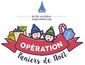 Opération Paniers de Noël du Pignon Bleu