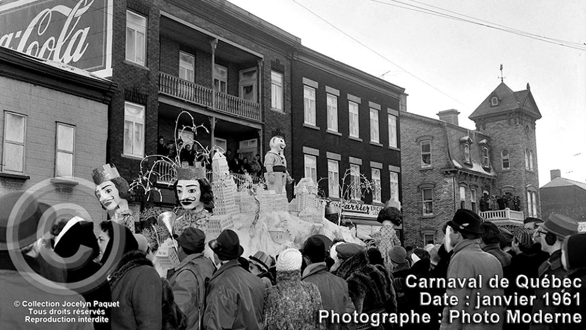 Saint-Sauveur dans les années 1960 (24) : défilé de jour du Carnaval sur Saint-Vallier | 24 février 2019 | Article par Jean Cazes