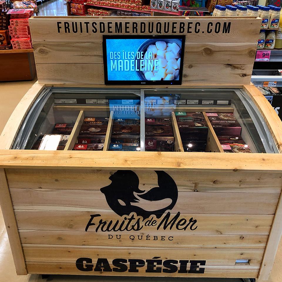 Nouveau! Fruits de mer du Québec au Metro Supermarché Ferland | Métro Ferland