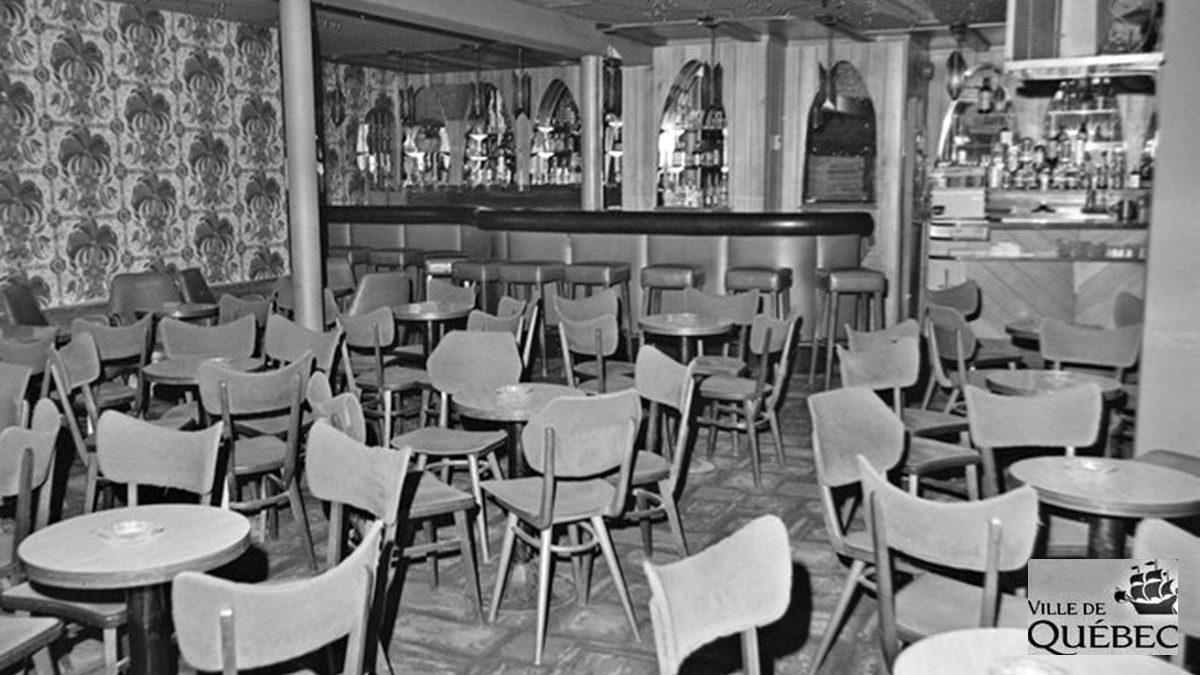 Resto-bar Le Napoli. 12 décembre 1974..