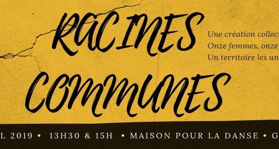 Racines Communes | Présentations devant public