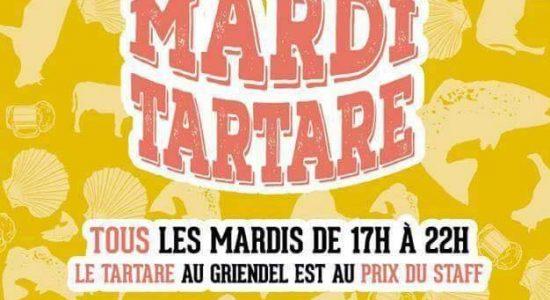 Mardis tartares à 20% de rabais | Griendel – Brasserie Artisanale