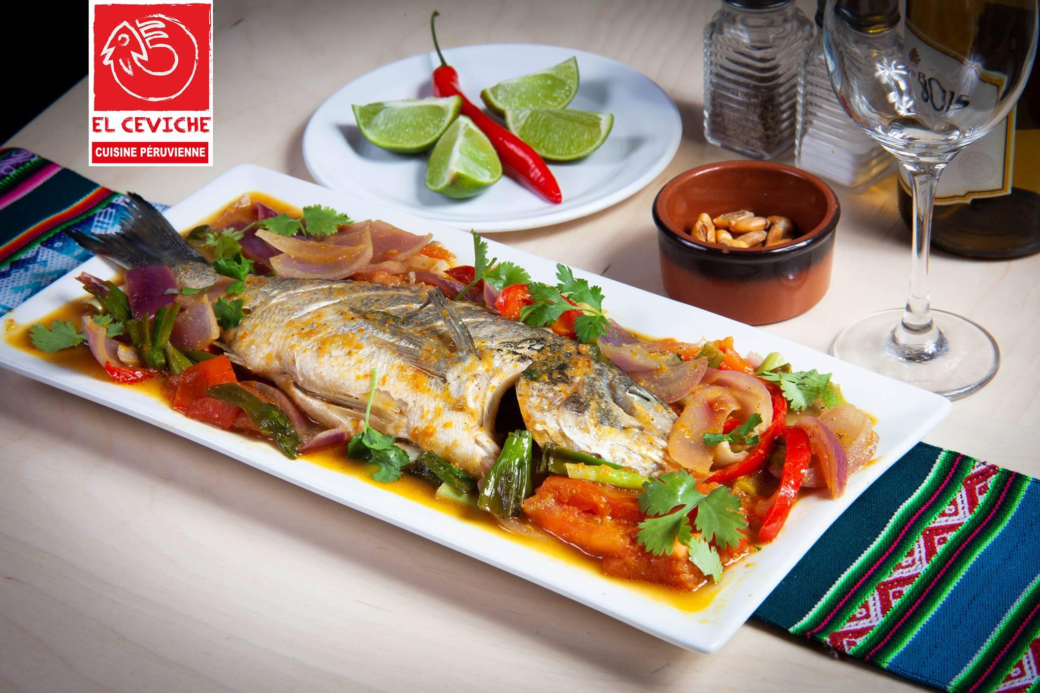 Cuisine et ambiance typiquement péruviennes | El Ceviche