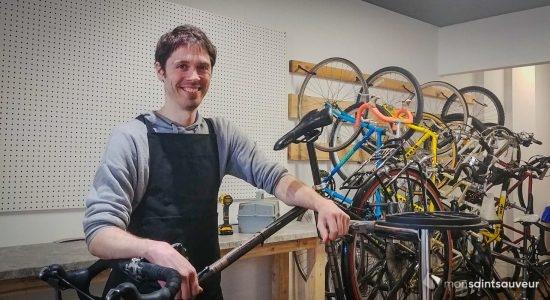 Un nouvel atelier de vélo sur la rue Saint-Vallier Ouest - Flore Bibeau