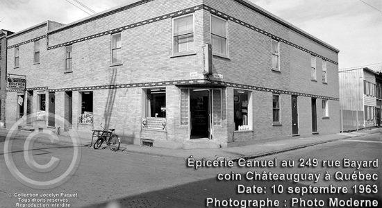 Saint-Sauveur dans les années 1960 (29) : épicerie Canuel - Jean Cazes