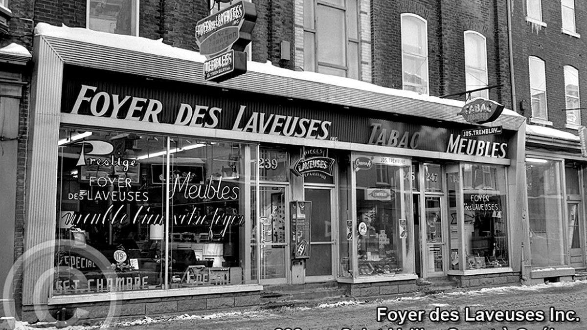 Saint-Sauveur dans les années 1960(27): Foyer des laveuses&Meubles | 22 juin 2019 | Article par Jean Cazes