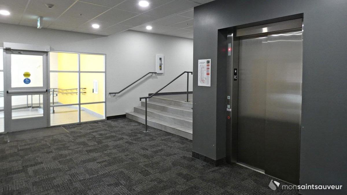 L'ascenseur.