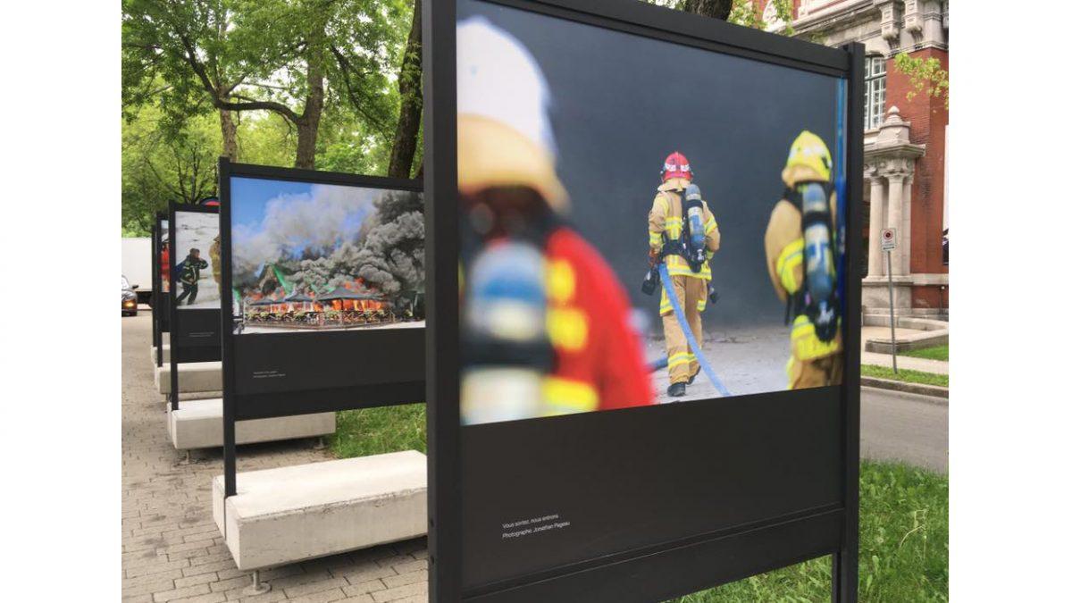 <em>Le feu sacré</em> sur le boulevard Langelier | 20 juin 2019 | Article par Suzie Genest