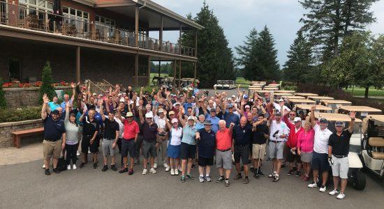 Tournoi de golf annuel bénéfice à l'Arche l'Étoile de Québec.