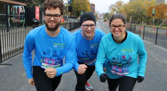 Une mosaïque de participants au Marathon SSQ - Véronique Demers
