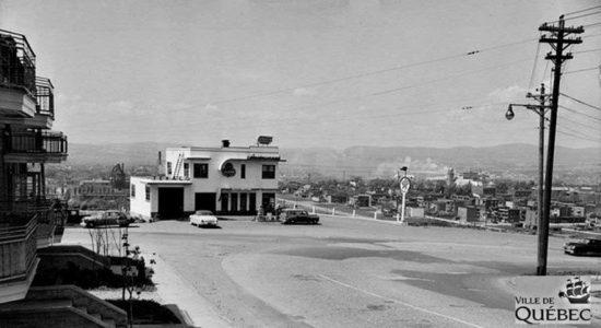 Saint-Sauveur dans les années 1950 (10) : le restaurant Penn-Mass de la côte Franklin - Jean Cazes