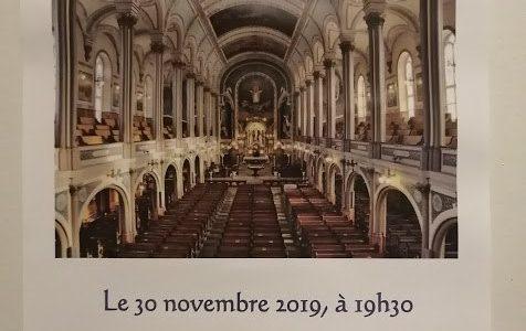 Le Choeur des Hivers vous chante Noël à l'église St-Sauveur