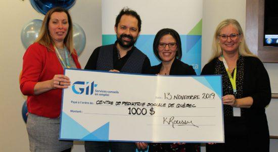 3 organismes du centre-ville honorés par GIT - Véronique Demers