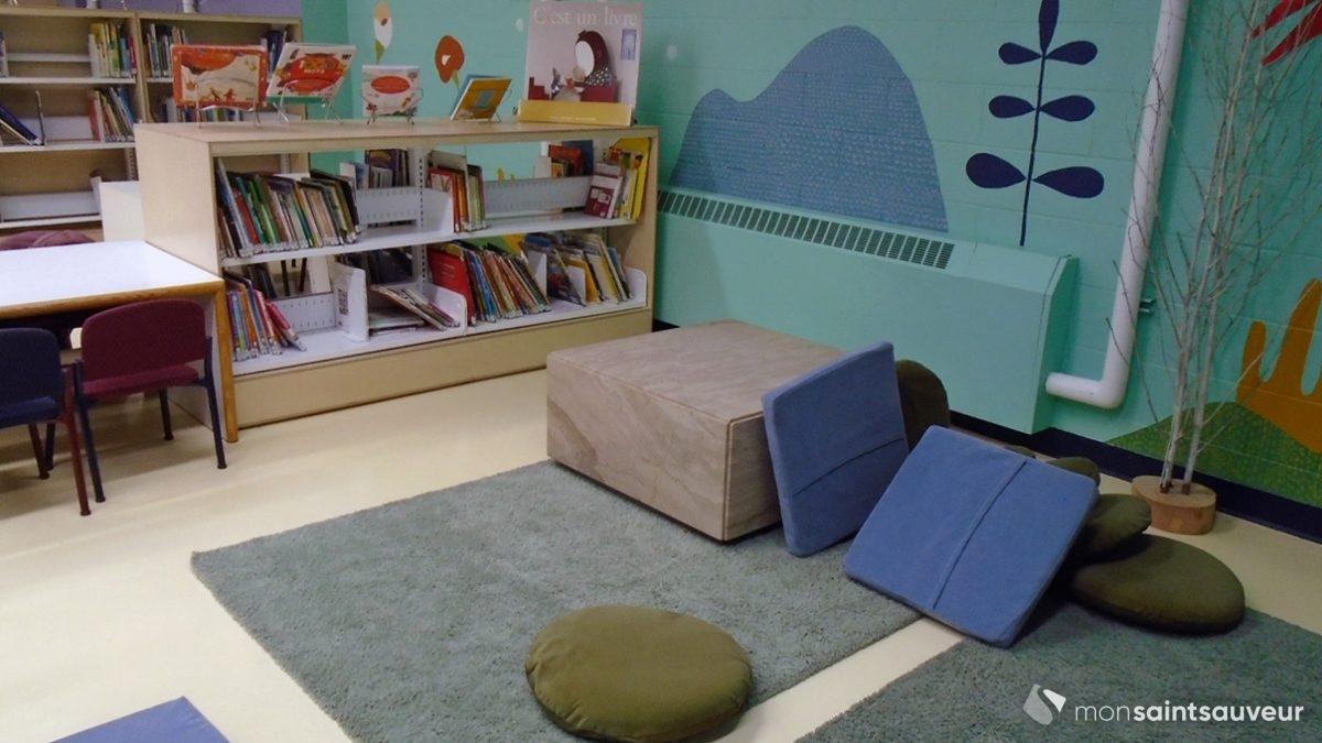 La bibliothèque de l'école Sacré-Coeur fait peau neuve | 11 décembre 2019 | Article par Suzie Genest