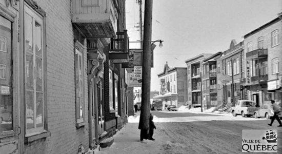 Saint-Sauveur dans les années 1960 (28) : rue Saint-Vallier Ouest - Jean Cazes