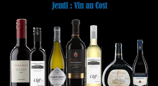 Jeudi vin au cost | Déli Grec