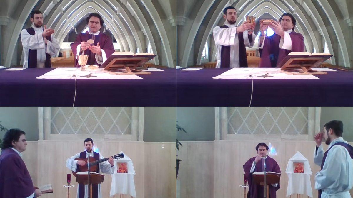 La messe chez vous : Sainte-Marie-de-l'Incarnation sur YouTube | 23 mars 2020 | Article par Suzie Genest