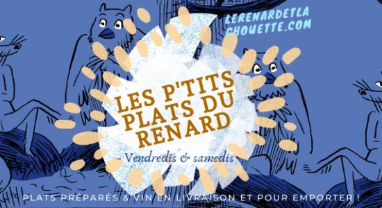 Livraison et Take-out | Renard et la chouette (Le)