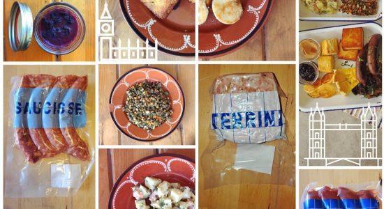 Ensemble déjeuner | Renard et la chouette (Le)