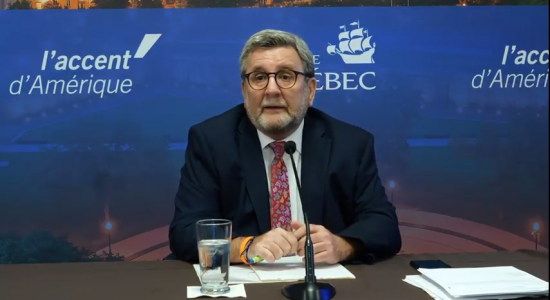 COVID-19 : « On est en train de l'échapper d'aplomb », craint le maire de Québec - Suzie Genest