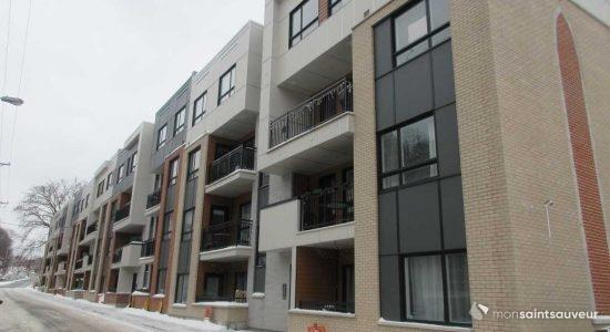Les Appartements Saint-Joseph, dans Saint-Sauveur, le 4 janvier.